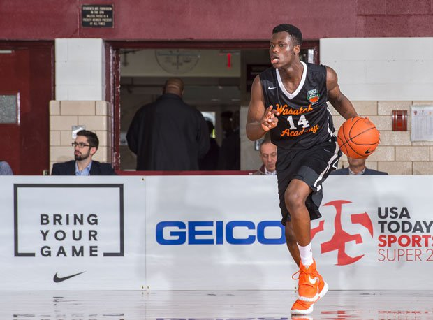 Emmanuel Akot is a 6-foot-7 guard from Wasatch Academy who has narrowed his choices down to Arizona, Louisville, Oregon and Utah.