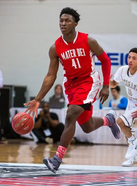 Stanley Johnson has a chance to lead Mater Dei to its first national title ever.