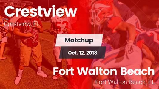 Football Game Recap: Crestview vs. Fort Walton Beach