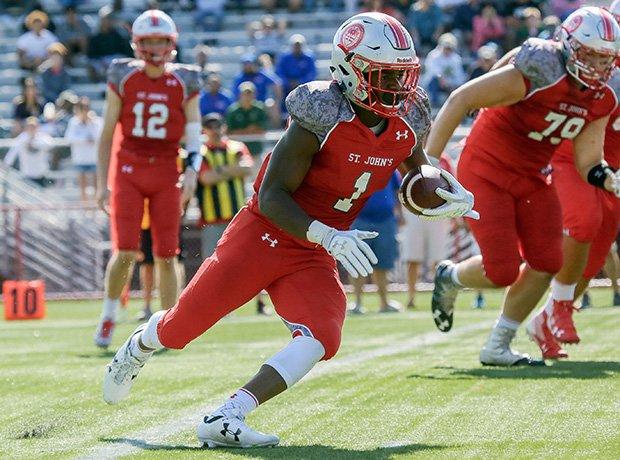 Running back Keilan Robinson