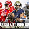 High school football: Bryce Young, DJ Uiagalelei lead more than 100 FBS players to play for Mater Dei, St. John Bosco since 2016 thumbnail