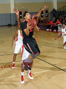 Nick Hamilton earned All-Tournament honors for his overall play at the MaxPreps Holiday Classic.