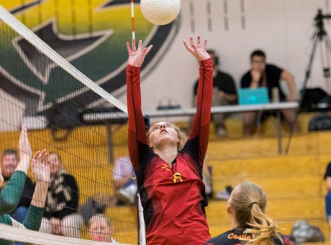 Castle View senior Lauren Lowry has set the pace for a Sabercats team that has vaulted to the top of the Class 5A ranks. The Continental League is proving its strength at the midpoint of the regular season.