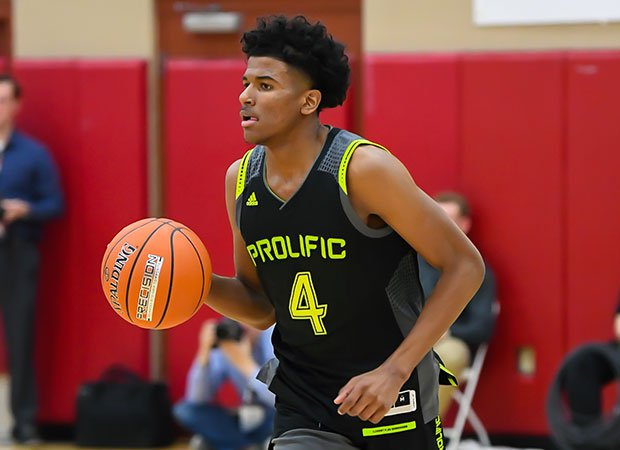 Guard Jalen Green poured in 33 points in Prolific Prep's victory at the Hoophall West in Arizona.