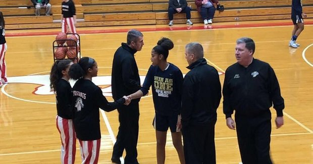 Aleena Mongerie was named captain of her Munster basketball team as a sophomore. She's a tireless worker who isn't afraid to what it takes to win.