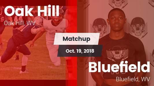 Football Game Recap: Bluefield vs. Oak Hill