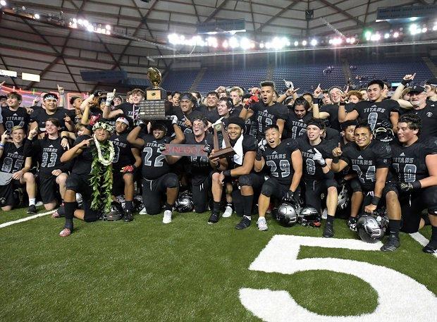 Union, Washington Class 4A champion
