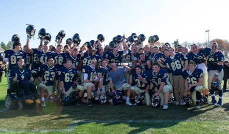 Needham rejoices the victory but it won't be going on to the playoffs.