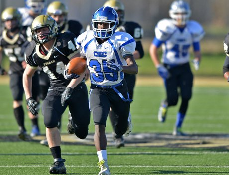 Conwell-Egan opened its scoring on two 65-yard runs by Chaz Cason (35).