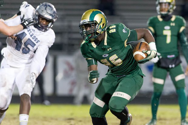 Running back Phil Mafah is one of five Grayson players in Georgia's Top 50 for the Class of 2021.