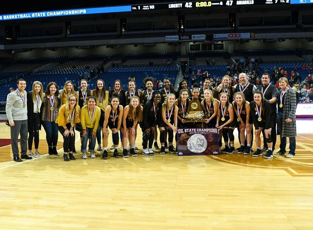 Amarillo after wining the UIL Texas 5A title.