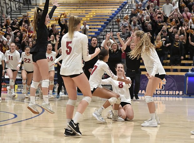 Torrey Pines (San Diego) celebrates is CIF Open Division title. The Falcons also landed as MaxPreps National Champions for 2019.