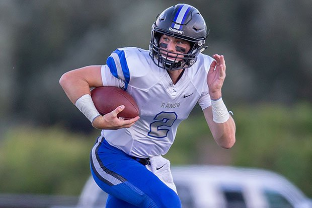 Highlands Ranch quarterback Jake Rubley has offers from 17 schools, including defending national champion LSU.