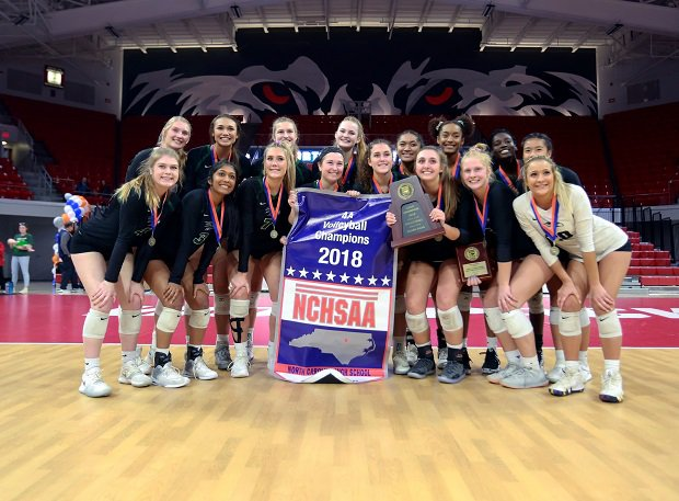 Green Hope won the North Carolina volleyball title and finished No. 13 in the Xcellent 25.