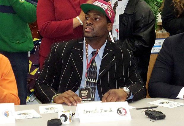 Derrick Nnadi of Ocean Lakes (Virginia Beach, Va.) commits to Florida State.