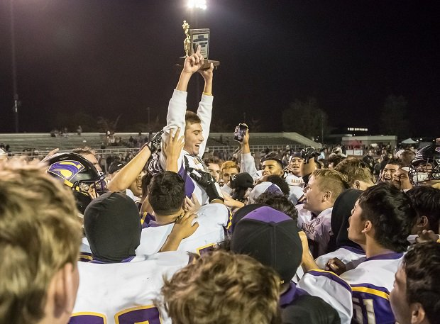 Salinas avenged an early loss to Milpitas in the CCS Section final.