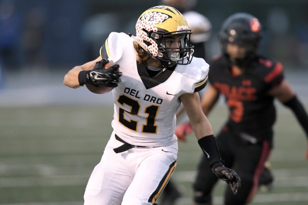 Sheldon Conde is back after eclipsing 1,000 yards on the ground for Division II section champion Del Oro.