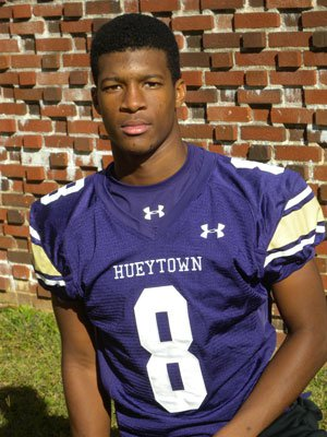 Jameis Winston is a football star at Hueytown, andthe same applies for baseball, where he is rankedas the state's top player. He'll have some bigchoices to make soon.