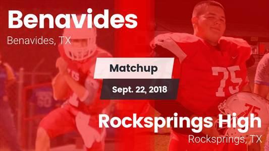 Football Game Recap: Rocksprings vs. Benavides