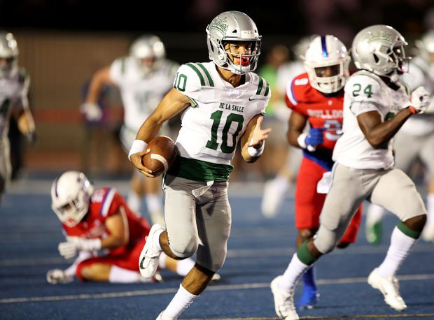 The season-opener between No. 17 De La Salle at No. 5 North Shore was canceled Monday amid travel concerns due to the coronavirus pandemic.