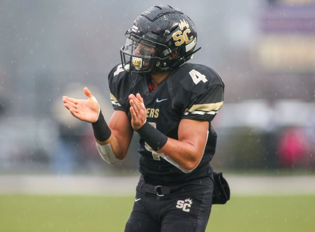 Julian Fleming has over 3,000 receiving yards and 43 touchdowns in his Southern Columbia career.