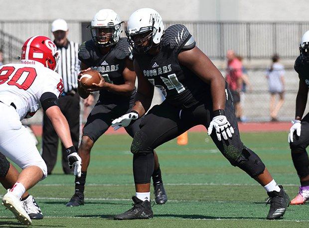 Harrisburg (Pa.) lineman Nate Bruce is headed to Penn State.