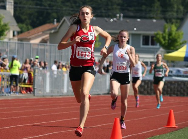 Alexa Efraimson, a junior from Camas (Wash.) just set the high school record in the 1,600 meters last week, winning the state title in 4 minutes, 33.29 seconds. She also is among the nation's top three in the 800. See the top three marks nationally in 32 events below.
