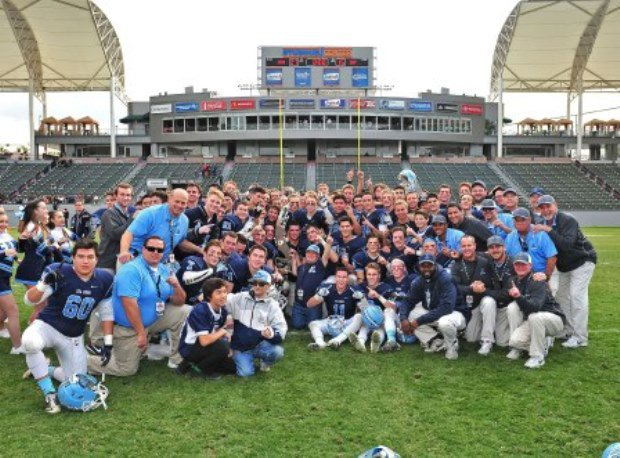 Scott Meyer's Sea Kings are the 2013 Division III state champions.