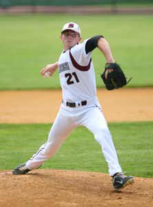 Tommy Burns' strikeouts have helpedwounded veterans and helped DonBosco Prep attain a high national rank.