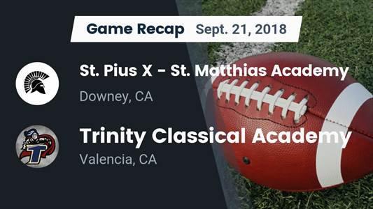 Football Game Preview: Trinity Classical Academy vs. Ribet Academy