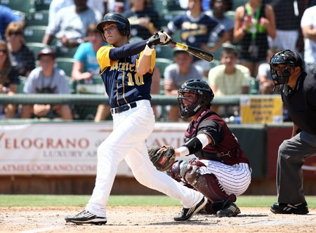Corbin Martin homered for Cypress Ranch against A&M Consolidated.