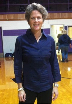 Dayna Westbrook will be coaching son Bryce at Douglass next season.
