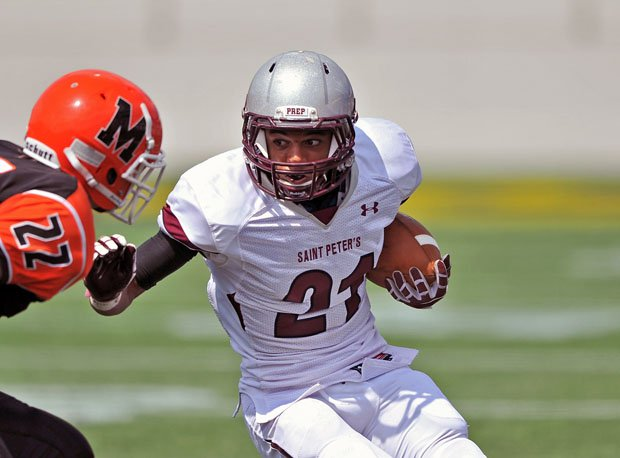 Minkah Fitzgerald was a 5-star recruit out of St. Peter's Prep in New Jersey.