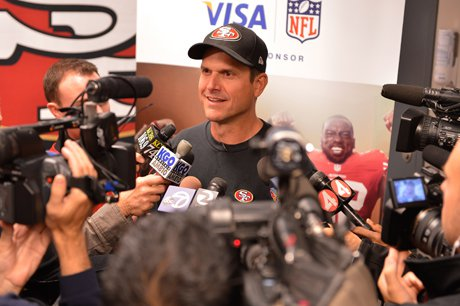 After the session with the coaches, a dozen media members wanted to know how it went.