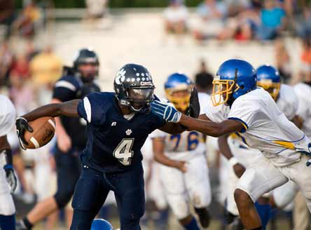 Keith Marshall of Millbrook (Raleigh, N.C.) is one of 11 Tom Lemming Top 100 recruits headed to the USC vs. Notre Dame game this weekend.