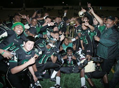 Narbonne's Los Angeles City Section title was the end of the road last season. This season, it could lead to an Open Division berth in the Regional Bowl Games.