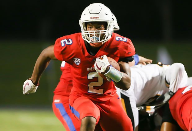 Georgia-bound running back Kendall Milton hopes to lead Buchanan past Central for a section title.