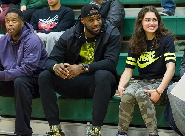 LeBron James is one of the five greatest high school athletes from Ohio.