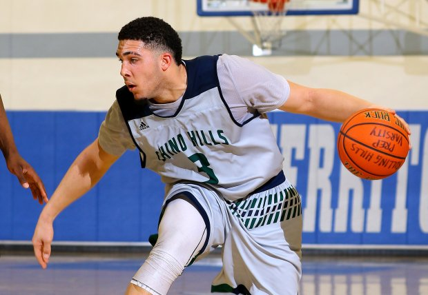 LiAngelo Ball helped Chino Hills advance in the CIF State Open Division playoffs with 52 points on Friday night.