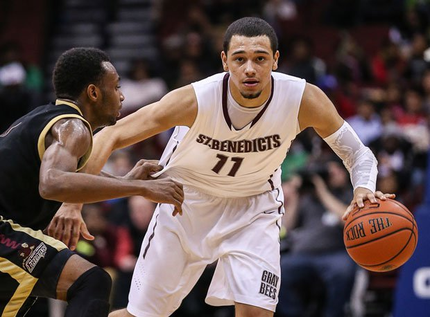 Tyler Ennis helped St. Benedict's Prep snap St. Anthony's 83-game win streak Friday night at the Newark National Invitational.