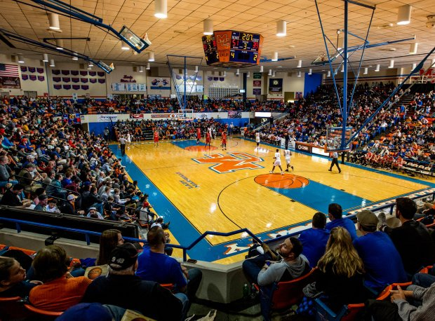 Reed Conder Gymnasium in Benton, Ky., is home to the Marshall County Hoopfest.