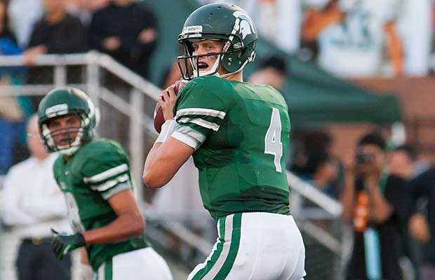 Max Browne set a state record in Skyline's playoff victory over Puyallup last week.