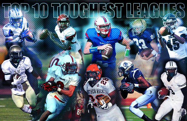 Top 10 Toughest High School Football Leagues In The Nation Maxpreps