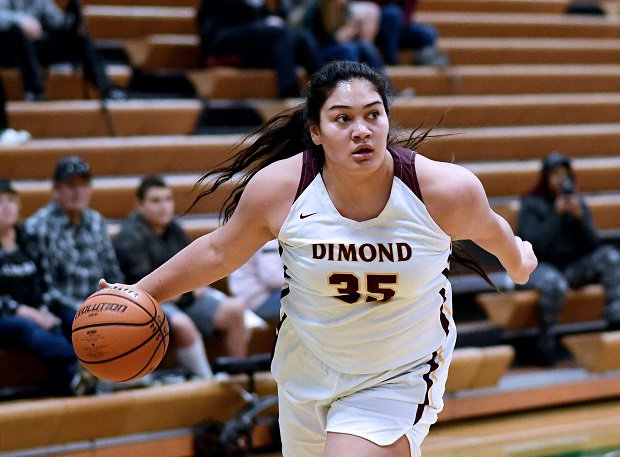 Dimond won the Alaska girls basketball title led by MaxPreps Girls Athlete of the Year Alissa Pili