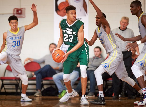 Kevin Knox led Tampa Catholic to a 25-6 record as a senior.
