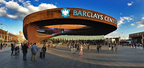 The breathtaking view of Barclays Center from the outside set the tone for the fantastic views on the inside.
