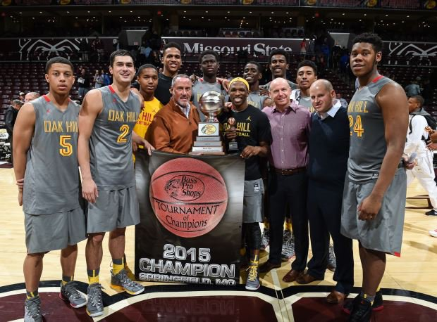 Oak Hill Academy jumped on Wesleyan Christian Academy early and never looked back Saturday night en route to the Bass Pro Shops Tournament of Champions title.