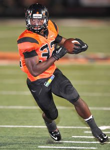 Despite a lopsided loss to Lake Travis,Johnathan Gray became Texas' careerleader in rushing touchdowns with 148.