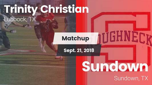 Football Game Recap: Sundown vs. Trinity Christian