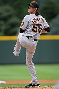 Tim Lincecum, San Francisco Giants.